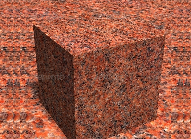Collection of Different Shapes Granite Textures