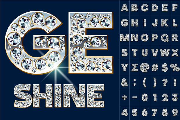 Vector alphabet of diamonds