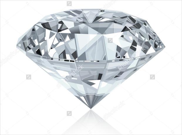 Classic Diamond Vector