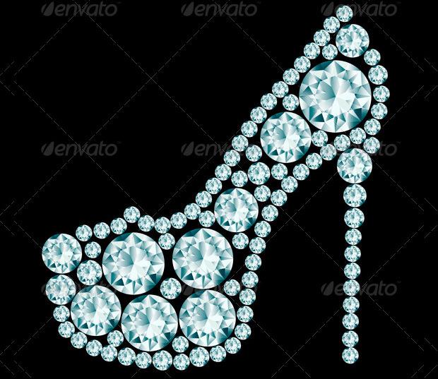 Heels Made of Diamonds