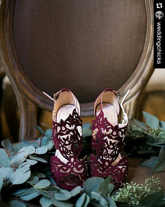 Violet Flower Design shoes For Women
