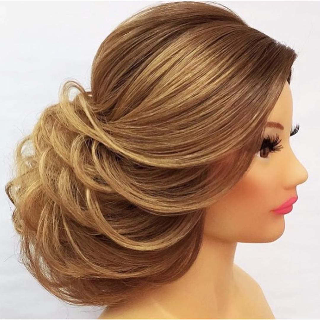 Barbie Doll Hairstyle For Medium hair