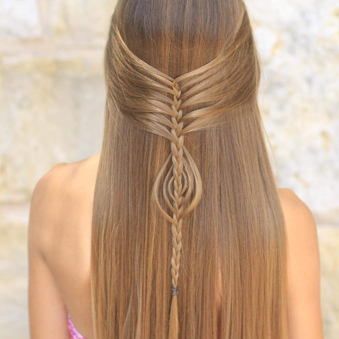 Medium Hairstyle For Parties