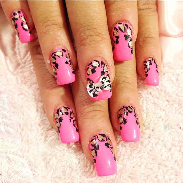 30 classy nail art designs ideas design trends premium psd classy design with pink and black nail art prinsesfo Gallery