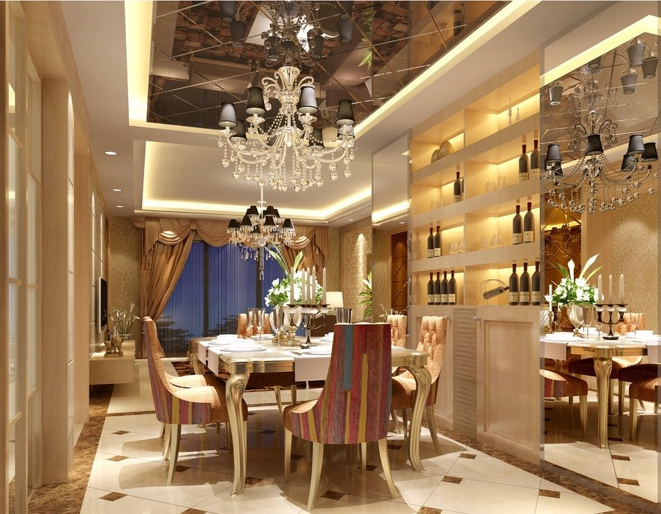 Dining room designs trends 2016 dining room designs for Luxury dining room design