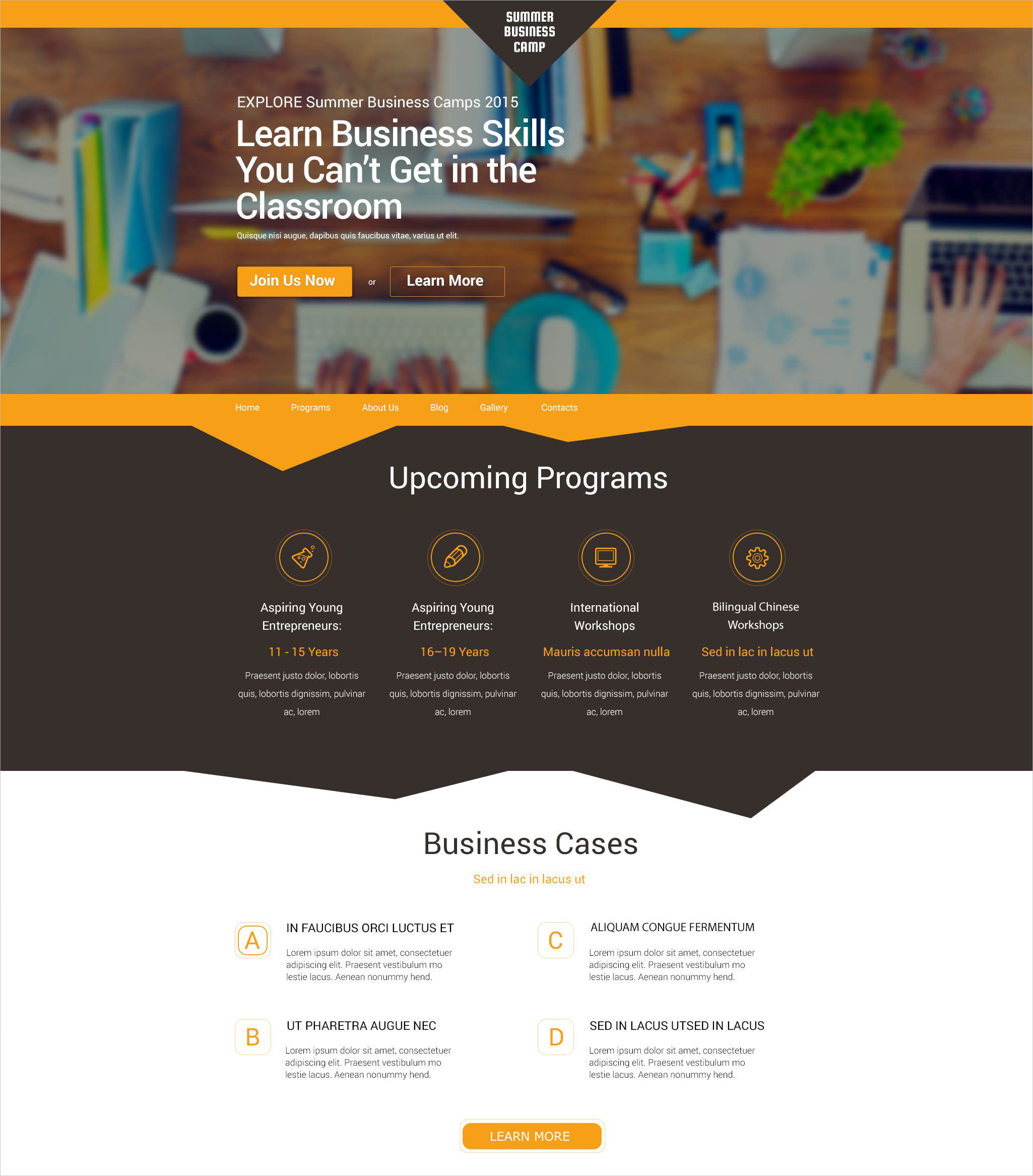 Best Business & Services WordPress Theme - $75