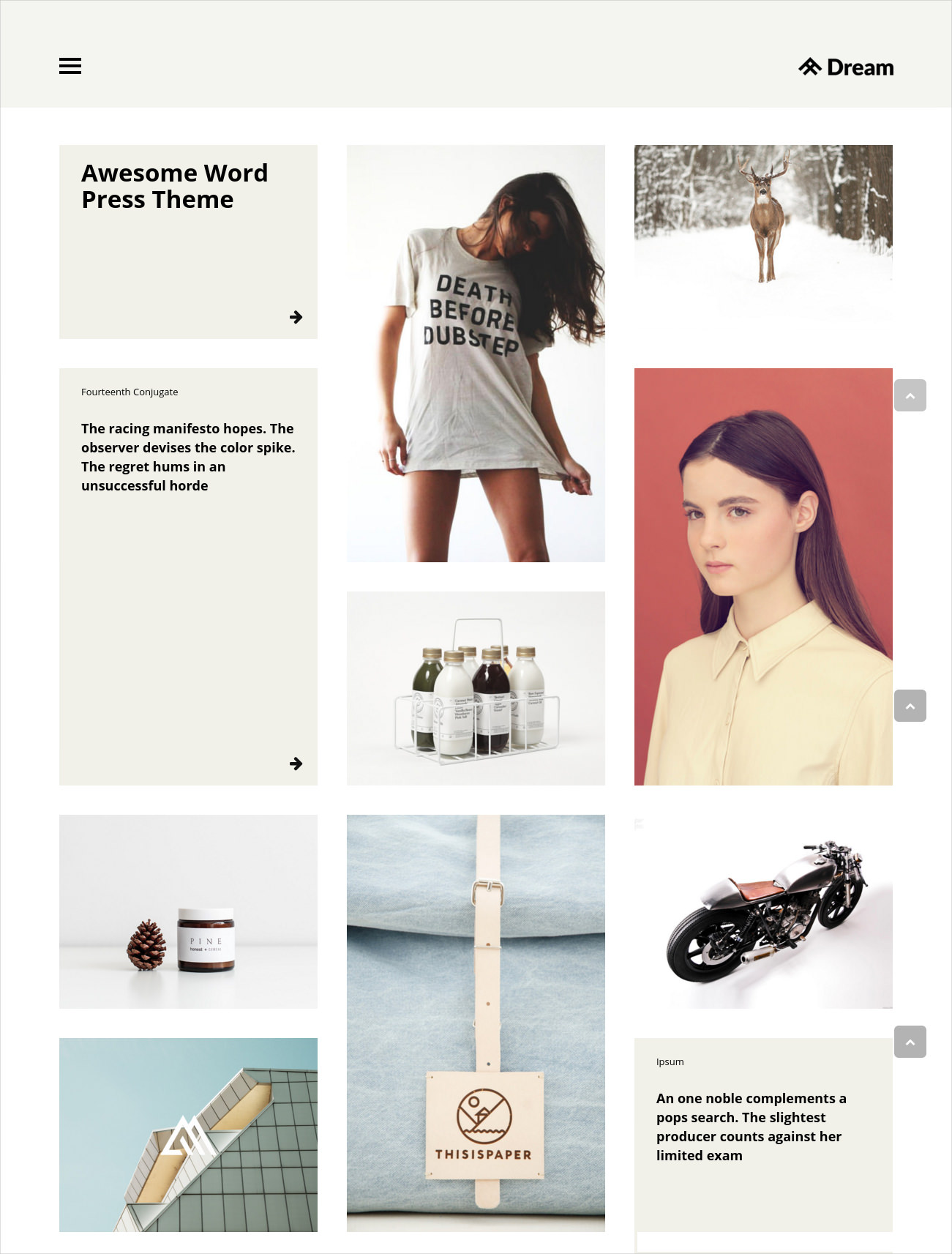 Business, Blog & Portfolio Theme - $59