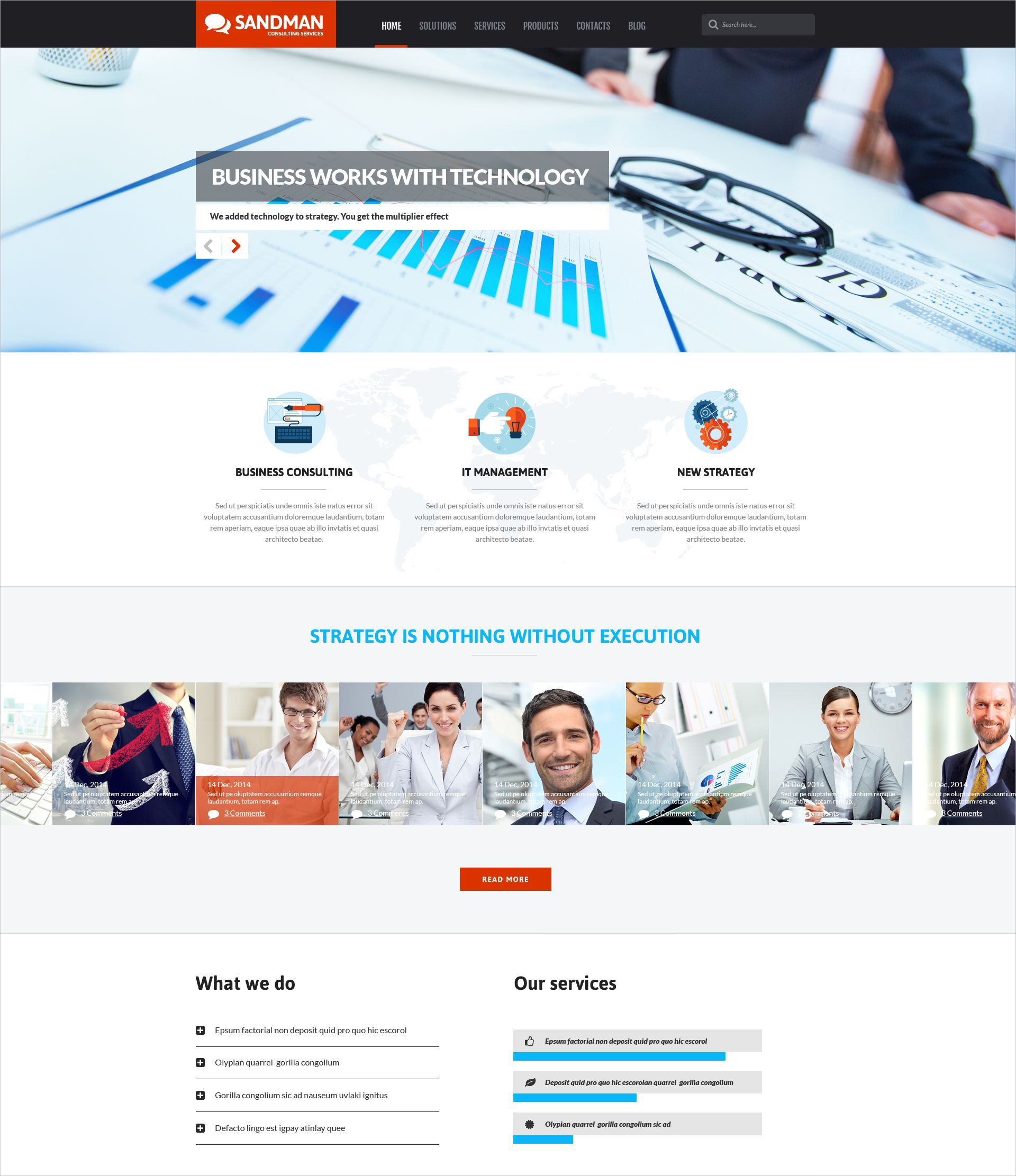 Business Bureau WordPress Theme - $75