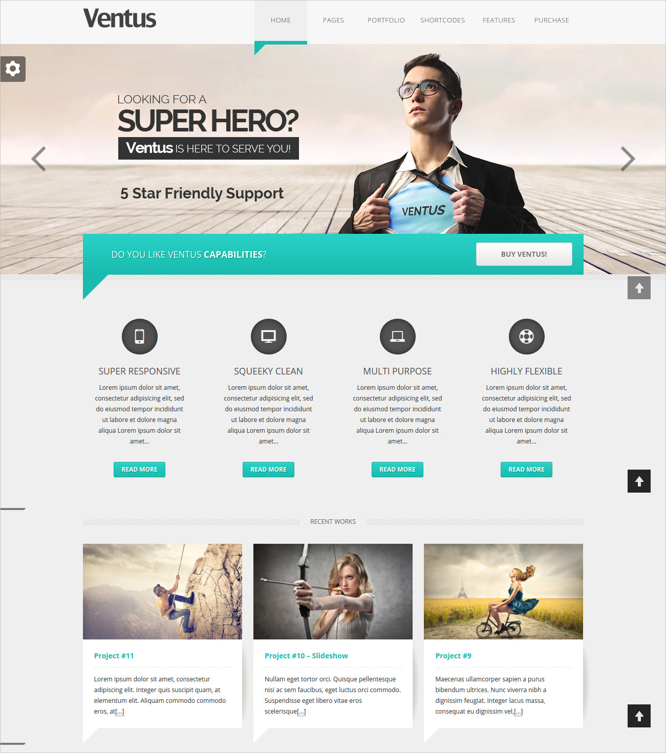 Modern Business WordPress Theme - $49
