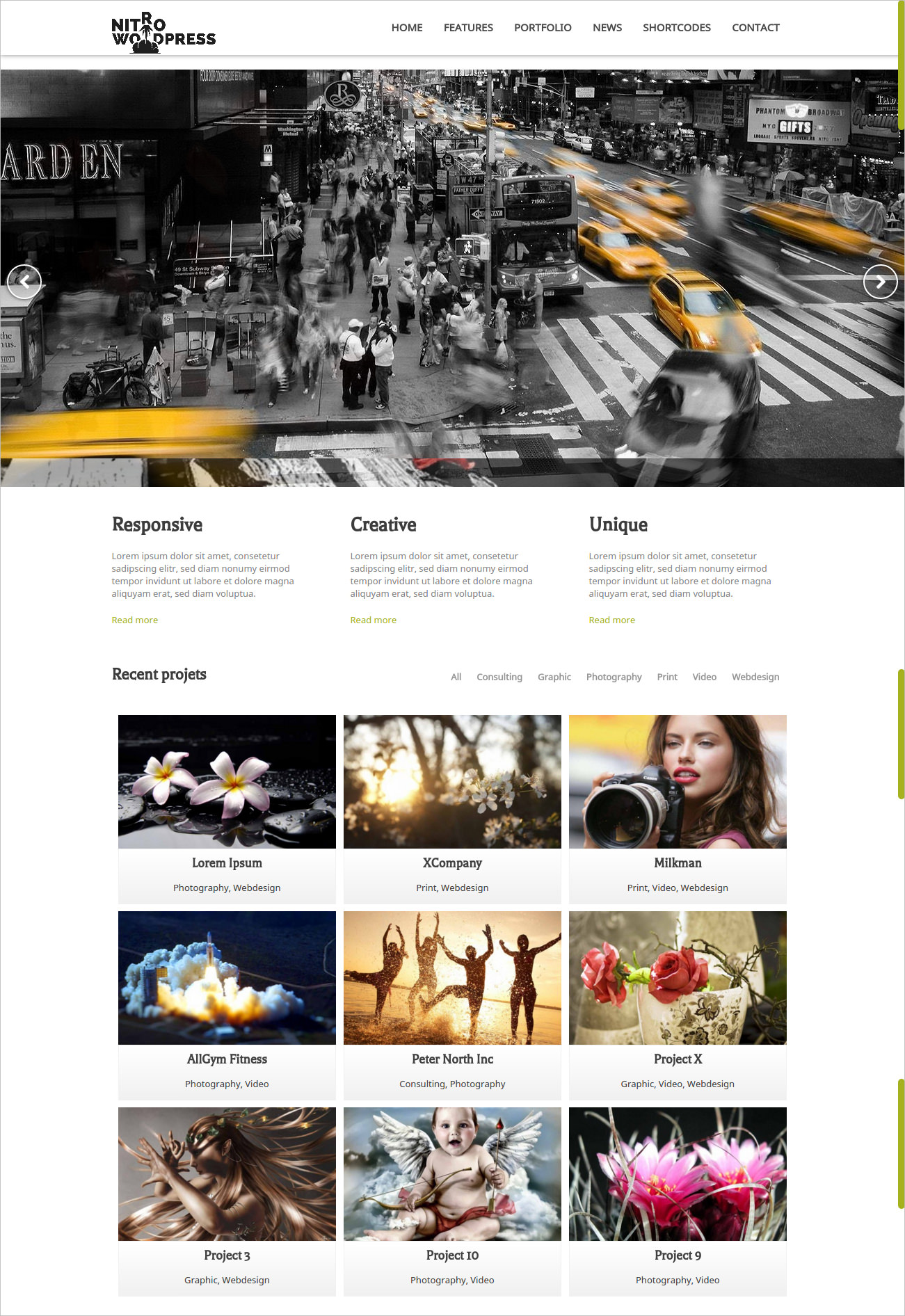 Powerful WordPress Business Theme - $49