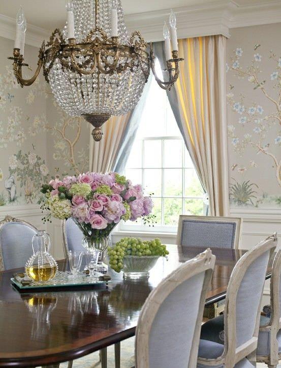 floral diningroom design 2