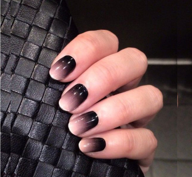 Matte Black Nail Designs | Graham Reid