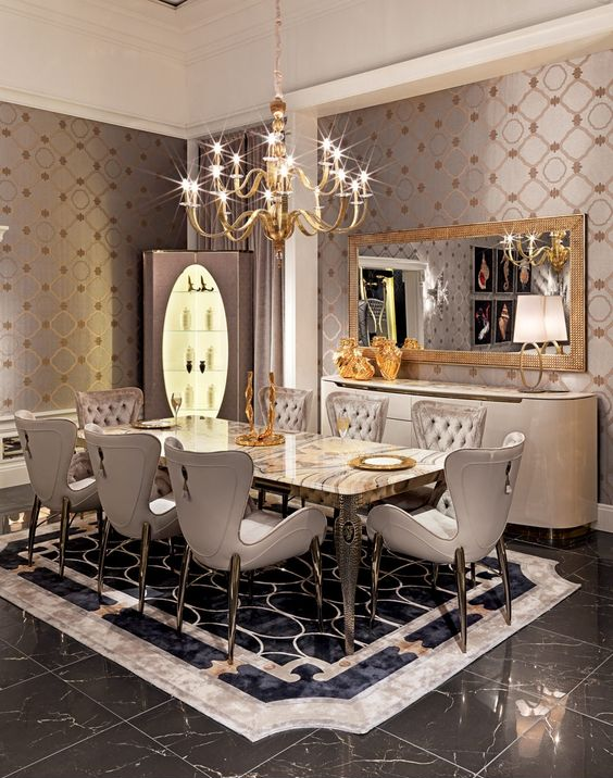 Dining room designs trends 2016 dining room designs for Dining room 2017 trends