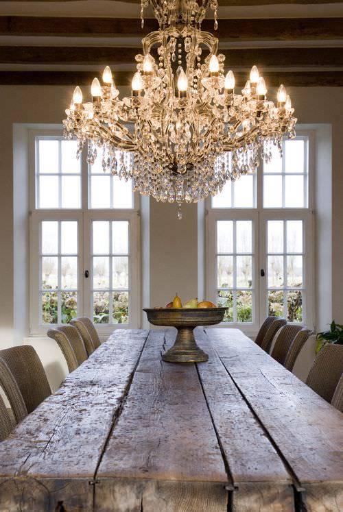 rustic dining room2