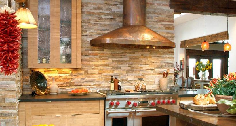 28+ Stone Walled Kitchen Designs, Decorating Ideas | Design Trends ...