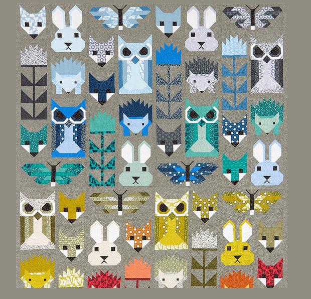 fancy quilt design pattern