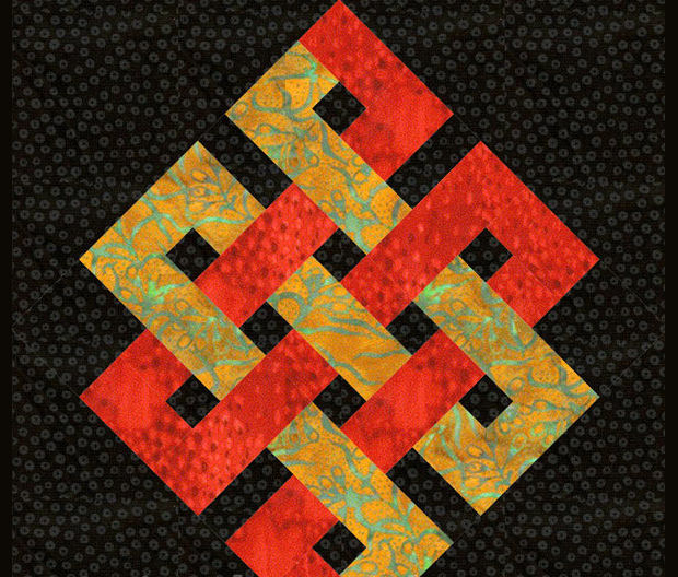 Block Quilt Design Pattern