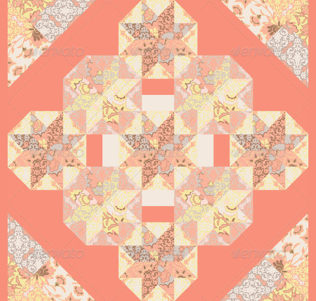 Cool Abstract Quilt Pattern