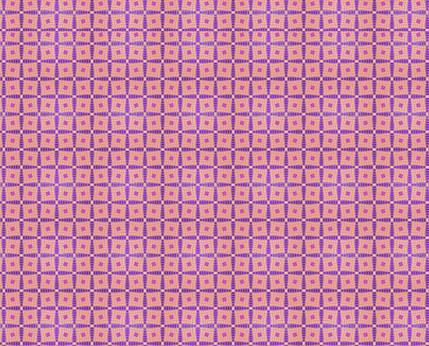Cool Pink Color Checks Quilt Pattern