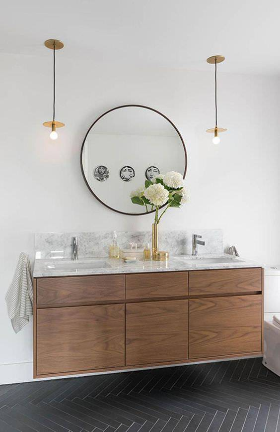 Bathroom Statement Mirror