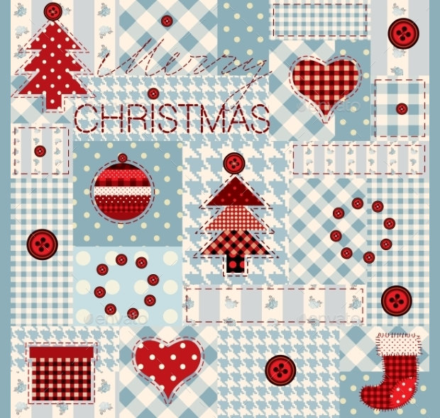 Amazing Chirsmas Pack work Quilt Pattern