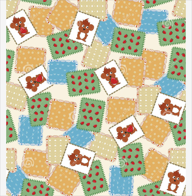 Cute Quilt Pattern Design