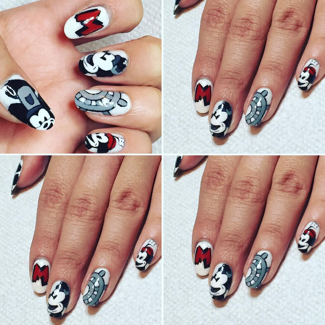 Lovely Disney Nail Design Set