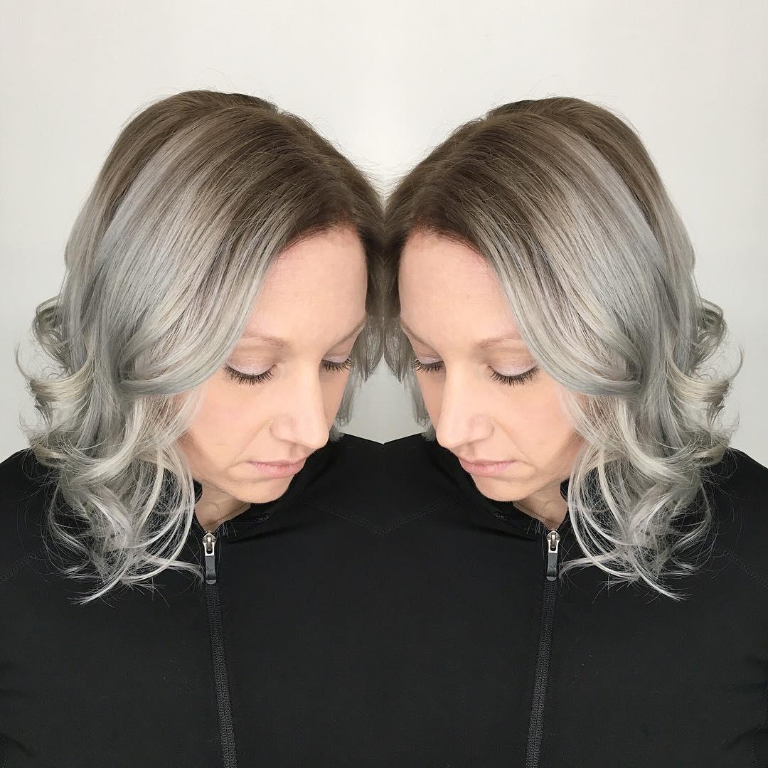 Modern Hair Style.