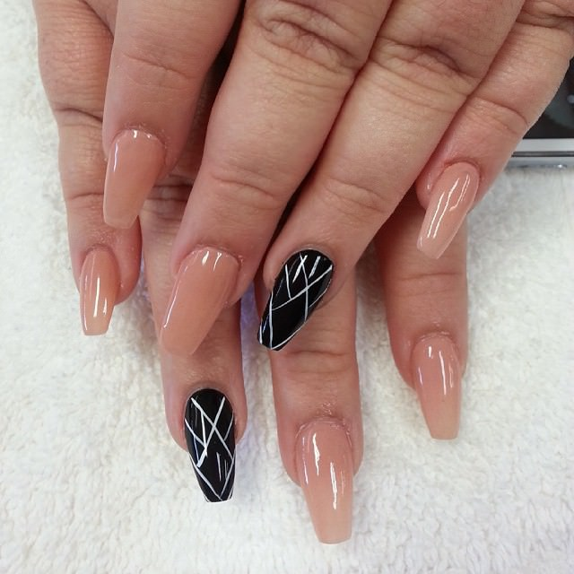 Line Design Ideas : Line nail art designs ideas design trends premium