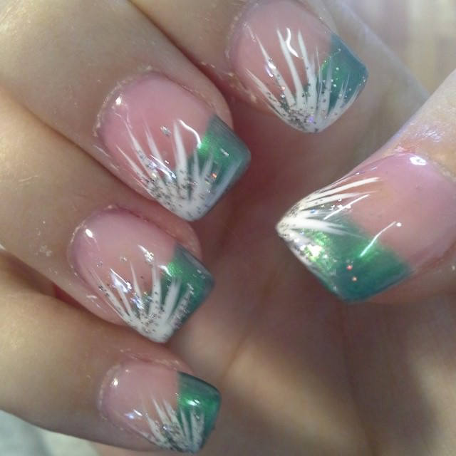 Line Design Nail Art : Line nail art designs ideas design trends premium