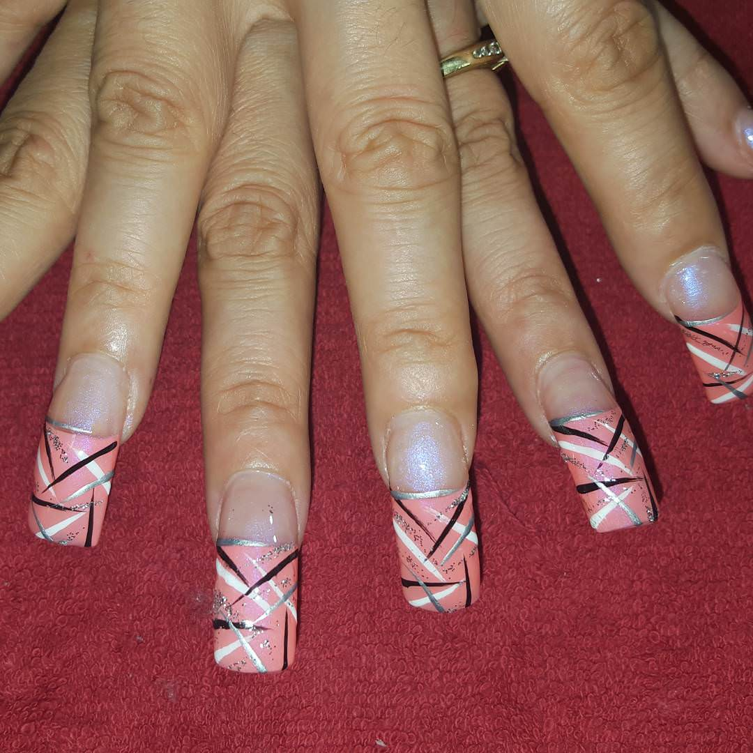 28+ Line Nail Art Designs, Ideas | Design Trends - Premium PSD ...