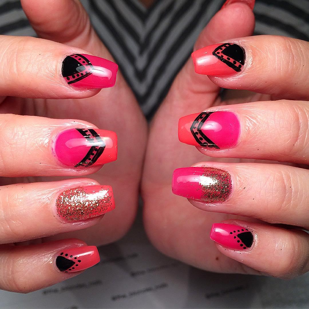 Single Line Nail Art : Line nail art designs ideas design trends premium