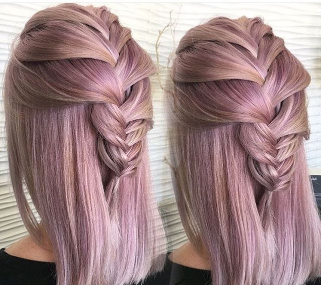 Short Hair Loose French braid