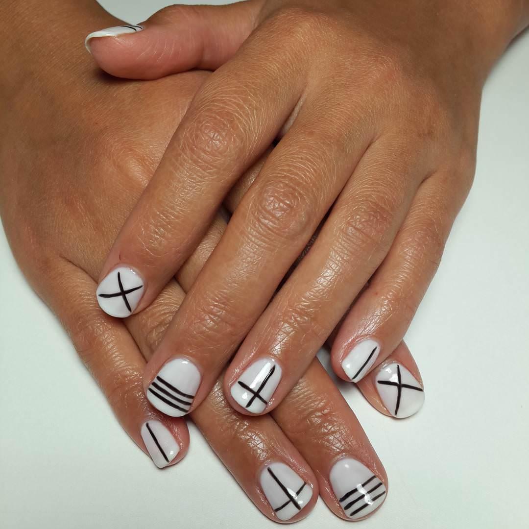 28 Line Nail Art Designs Ideas Design Trends Premium Psd Vector Downloads