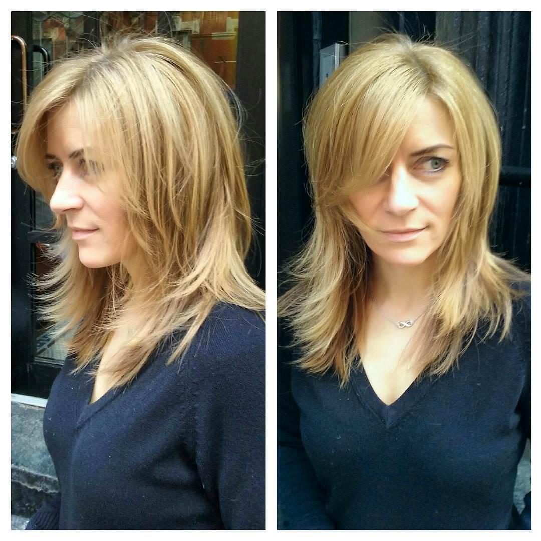 Midlength Hair Style