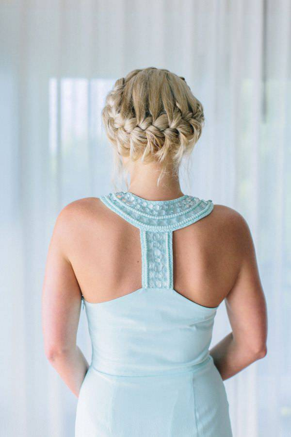 french bridesmaid hairstyle