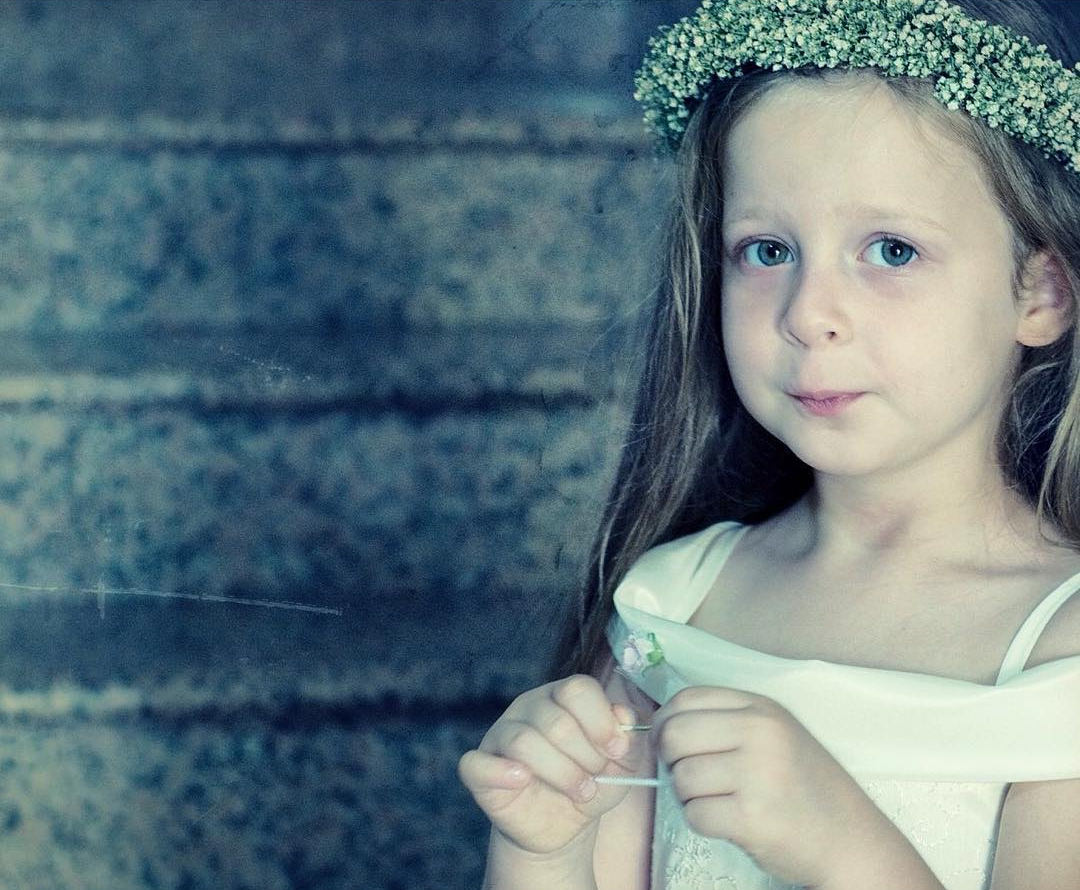 Little Girls as Bridesmaid
