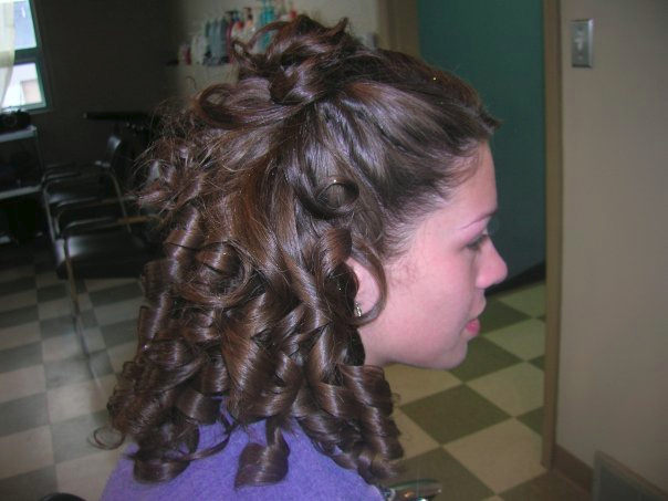Hygenic Curls Mid Length Hairstyle