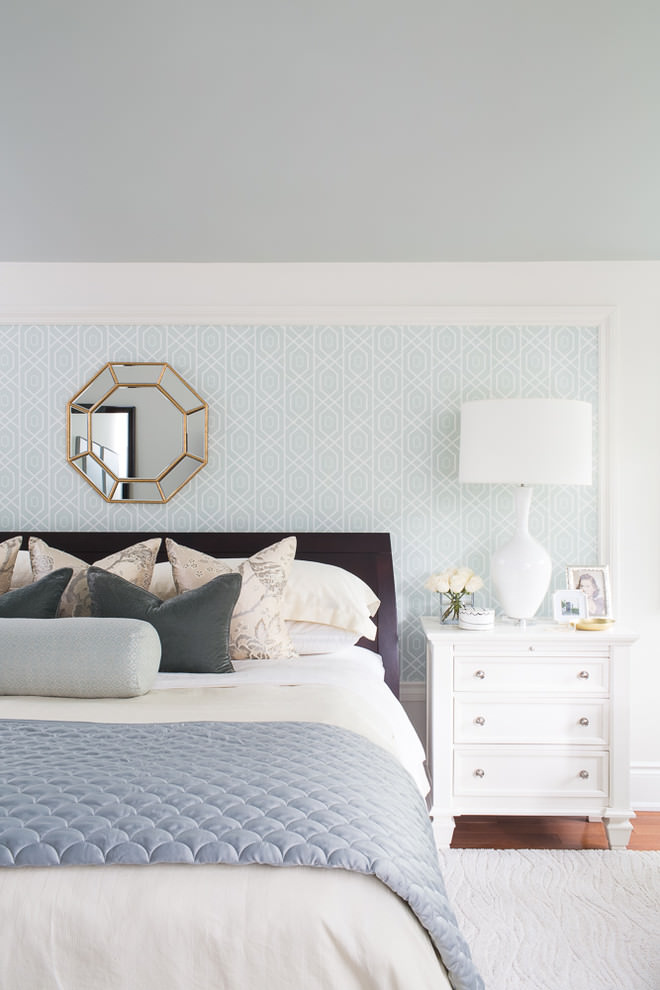 Simple Room Colour: 22+ Geometric Wallpaper Designs, Decor Ideas