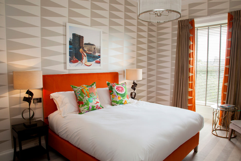 22+ Geometric Wallpaper Designs, Decor Ideas | Design ...