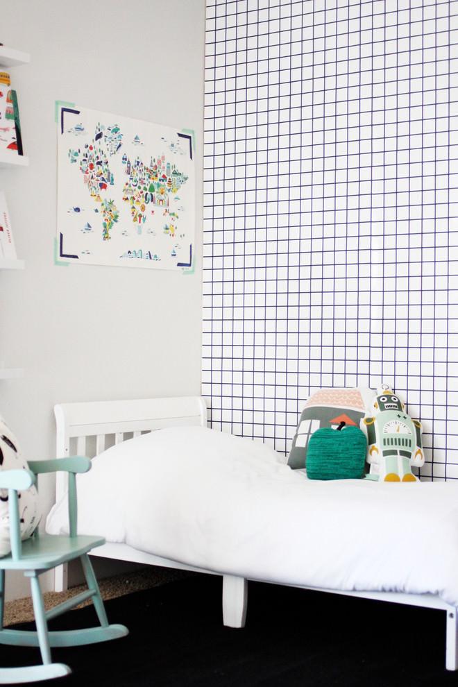 22 Geometric Wallpaper Designs Decor Ideas Design