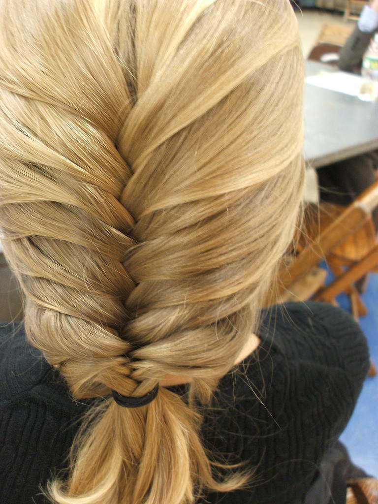 Cool Fish Tail Hairstyle