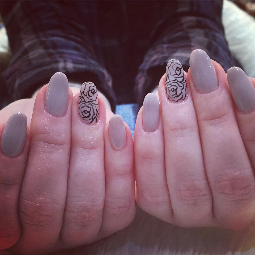 Nice Ciaw Nail Design