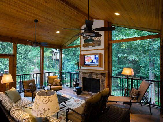 rustic porch design1