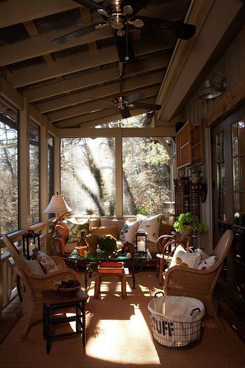 Rustic Porch with Furniture1
