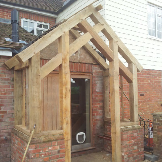 elegant rustic porch design