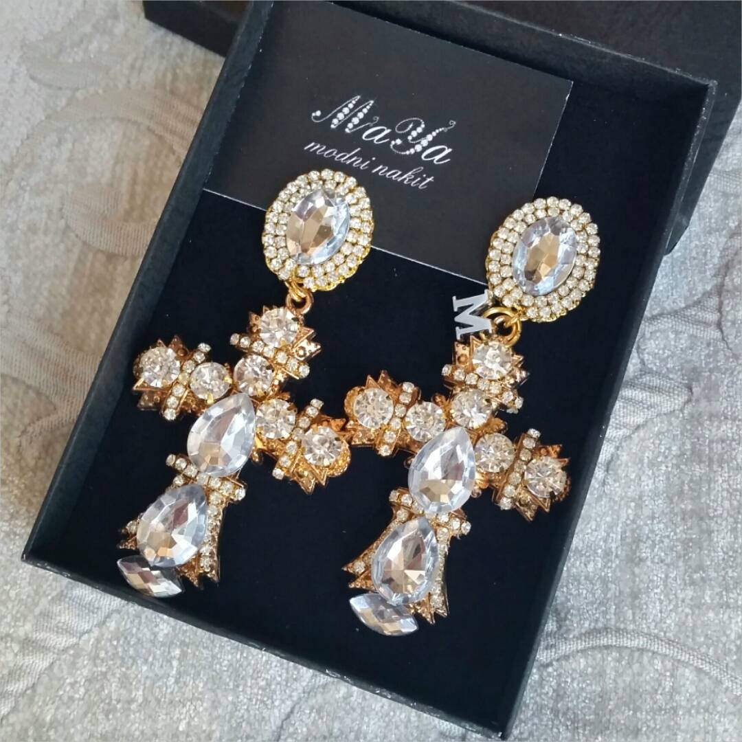 Attractive Cross Earrings