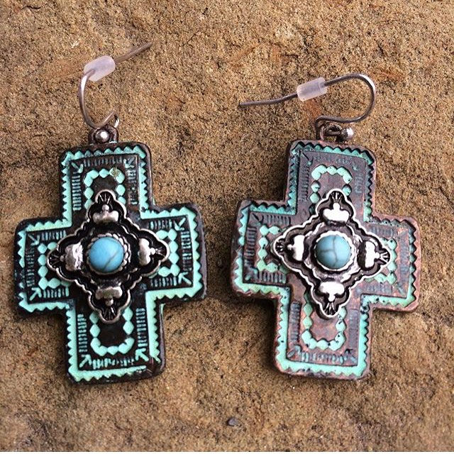 Simple & Nice Cross Earrings
