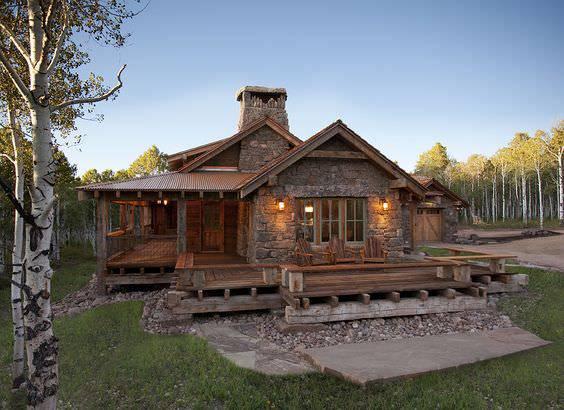 amazing rustic porch design
