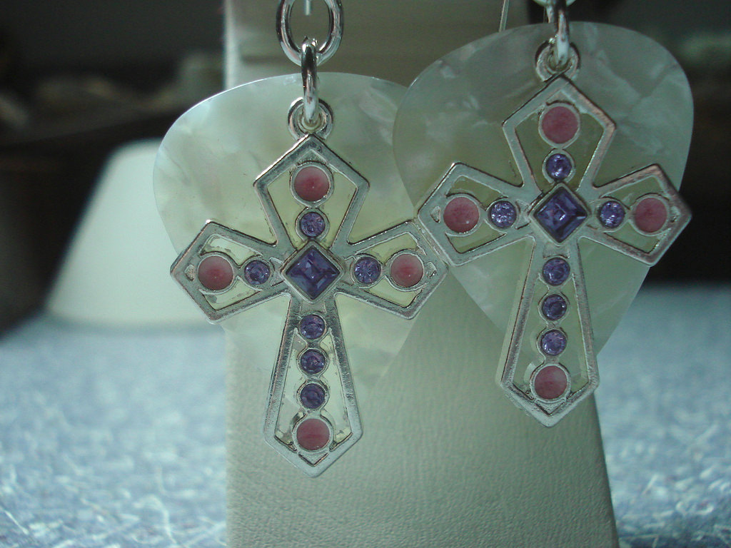 Amazing Cross Earrings